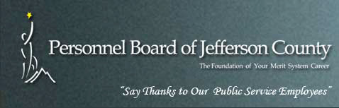 The Personnel Board of Jefferson County Alabama